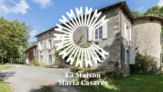 La culture dans la nature : la Maison MariaCasarès
