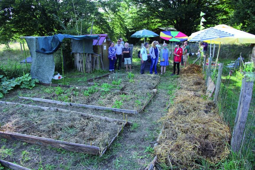 Le collectif Charente Limousine en transition inaugure son «jardinrêvé»